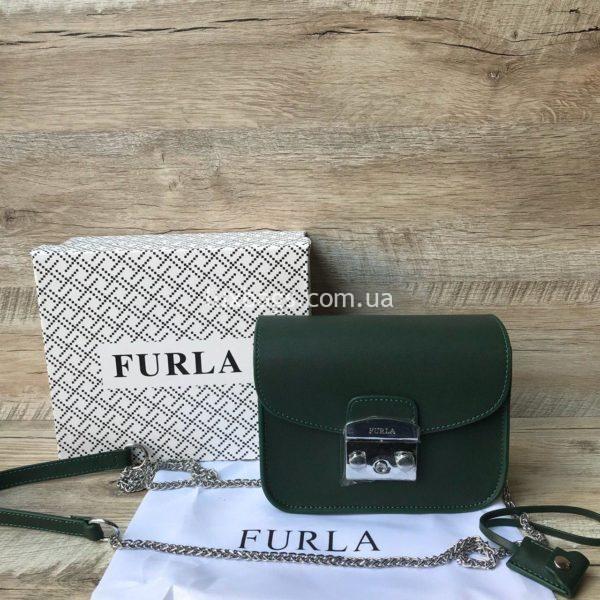 сумка furla зеленая
