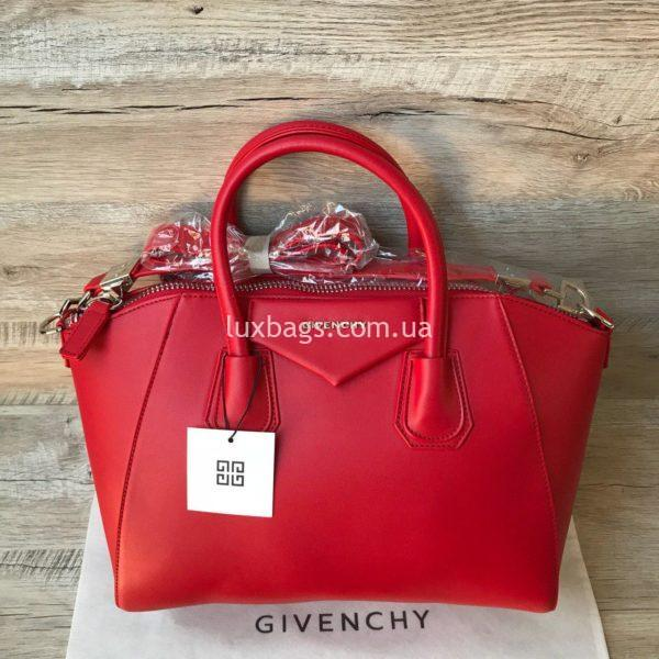 сумка givenchy красная 3