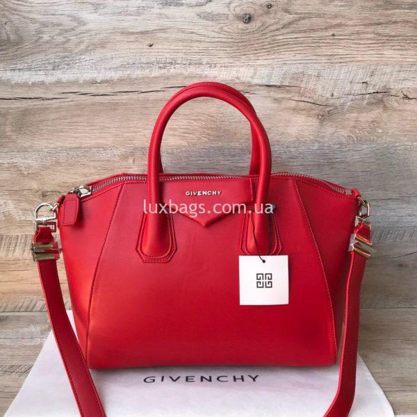 сумка givenchy красная