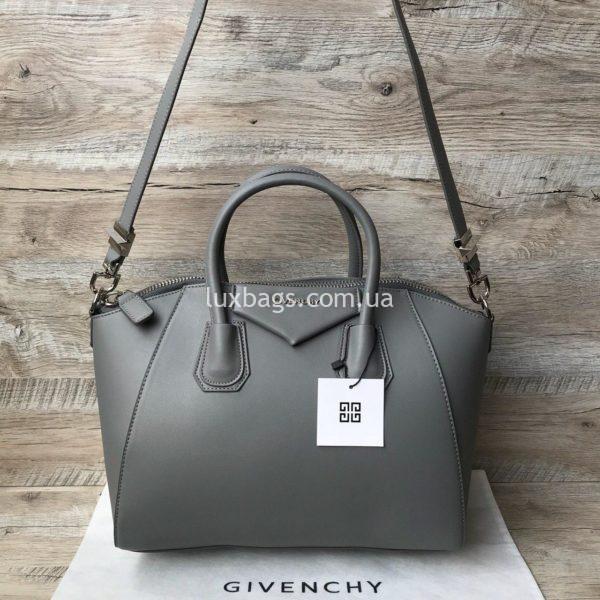 сумка givenchy серая 4