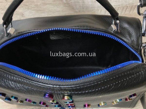 кожаная сумка через плечо 6
