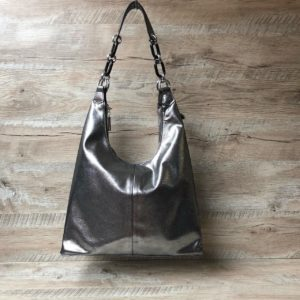 кожаная сумка на плече 4