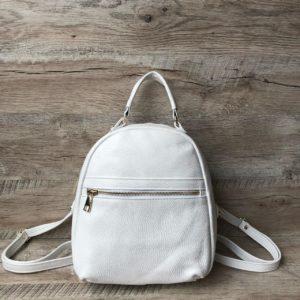 средний рюкзак из кожи