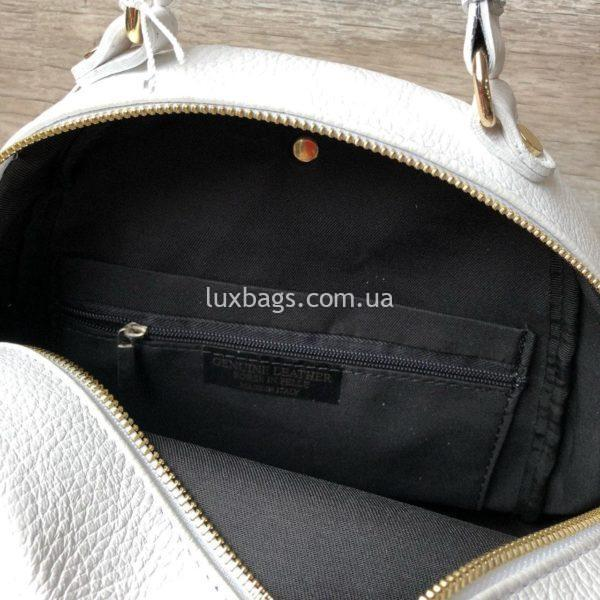 средний рюкзак из кожи 4