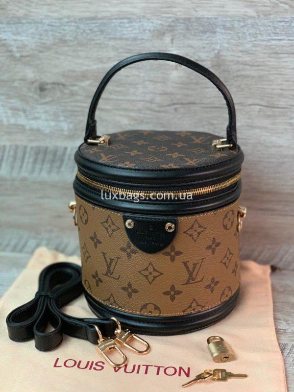 сумка цилиндрической формы Louis Vuitton вид 4