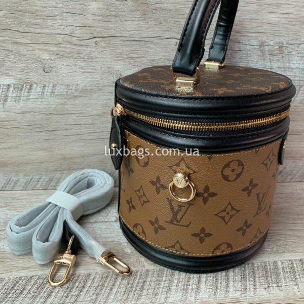 сумка цилиндрической формы Louis Vuitton вид 6