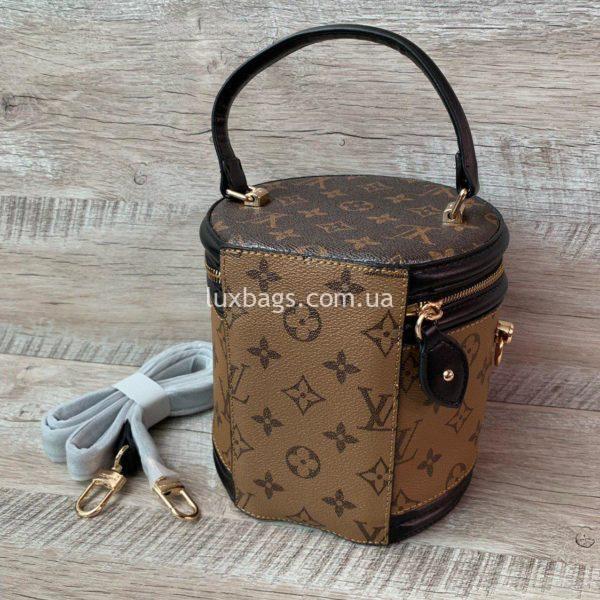 сумка цилиндрической формы Louis Vuitton вид 5