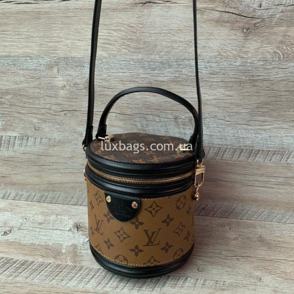 сумка цилиндрической формы Louis Vuitton вид 7