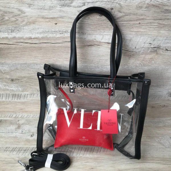прозрачная пляжная сумка 2
