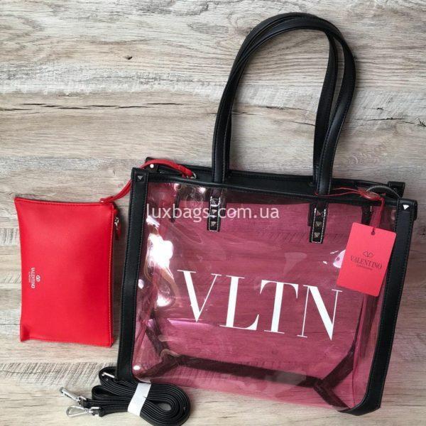 прозрачная пляжная сумка 3