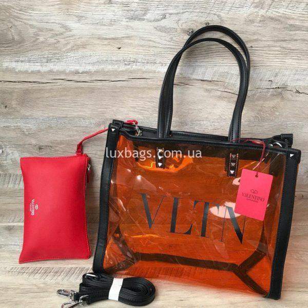прозрачная пляжная сумка 4
