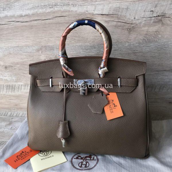 Женская кожаная сумка Hermès Birkin 5