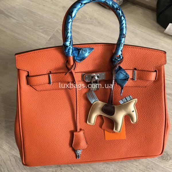 Женская кожаная сумка Hermès Birkin 6