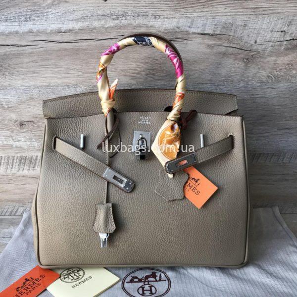 Женская кожаная сумка Hermès Birkin 7