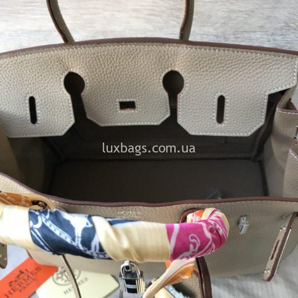Женская кожаная сумка Hermès Birkin 8