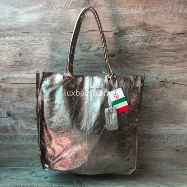 Женская кожаная сумка Vera Pelle 1