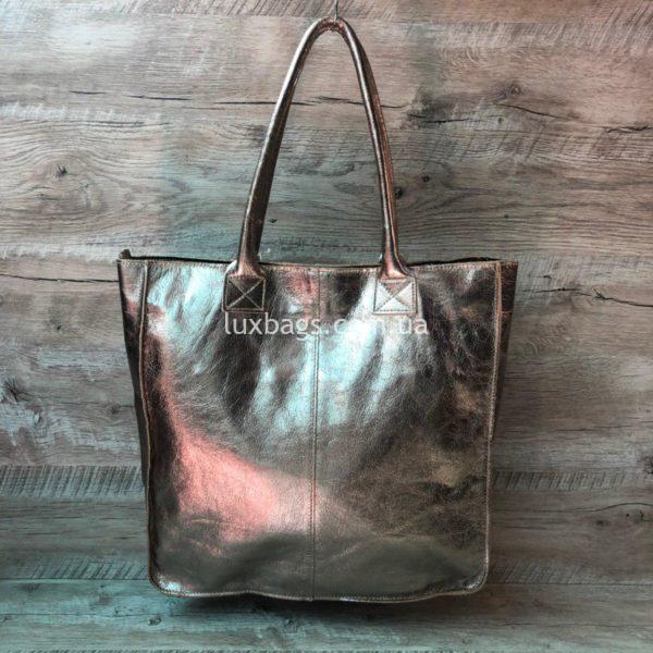 Женская кожаная сумка Vera Pelle 5
