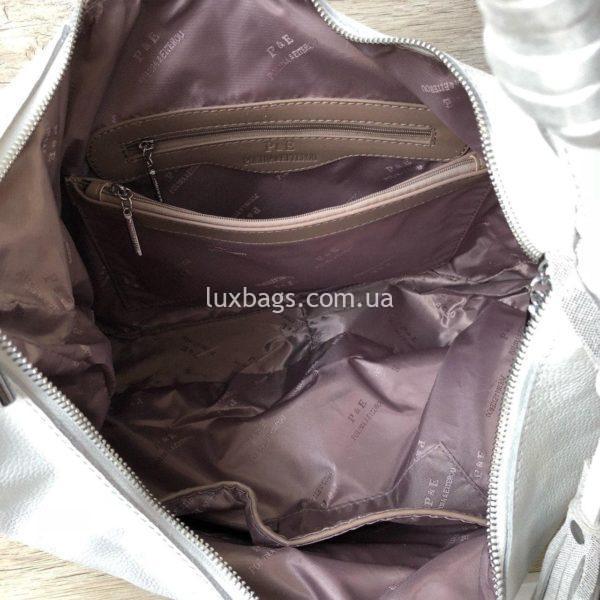 сумка женская кожаная polina eiterou 5