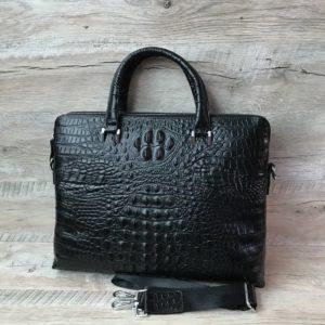 мужской кожаный портфель вид 4