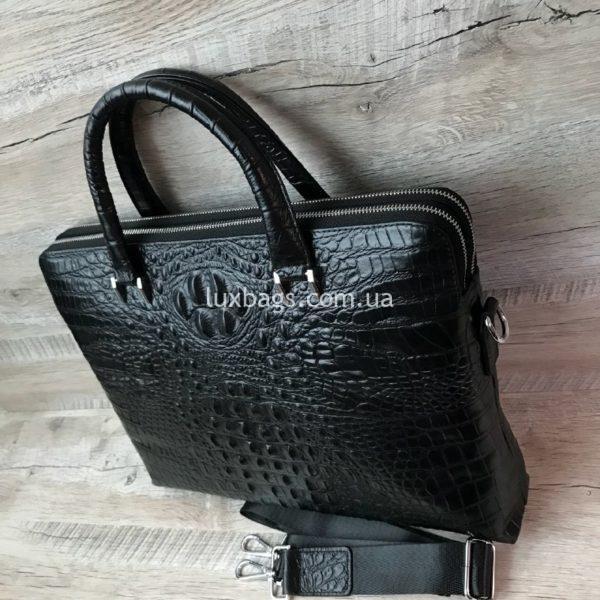 мужской кожаный портфель вид 3