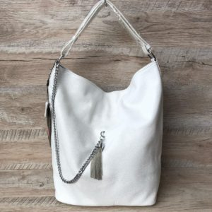 большая белая сумка