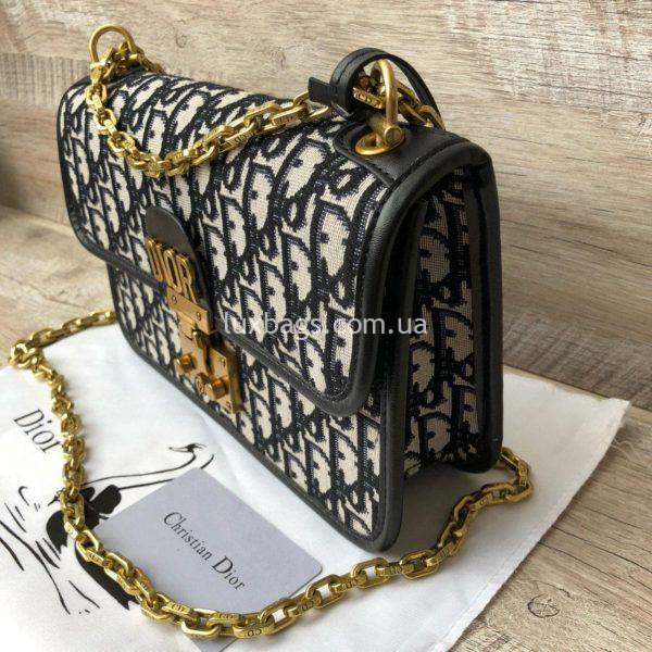 сумка Dior тканевая