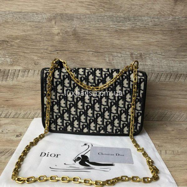 сумка Dior тканевая 10