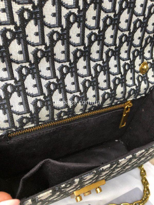 сумка Dior тканевая 3