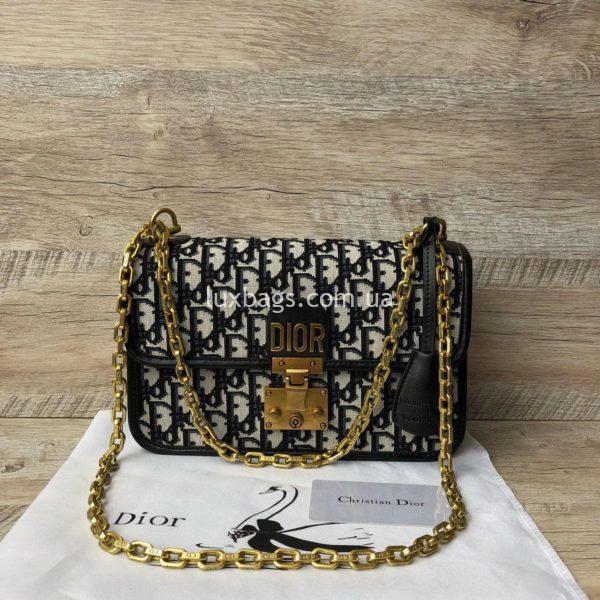 сумка Dior тканевая 6