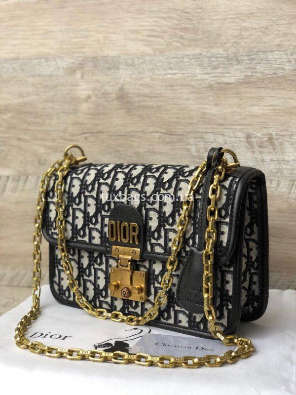 сумка Dior тканевая 7