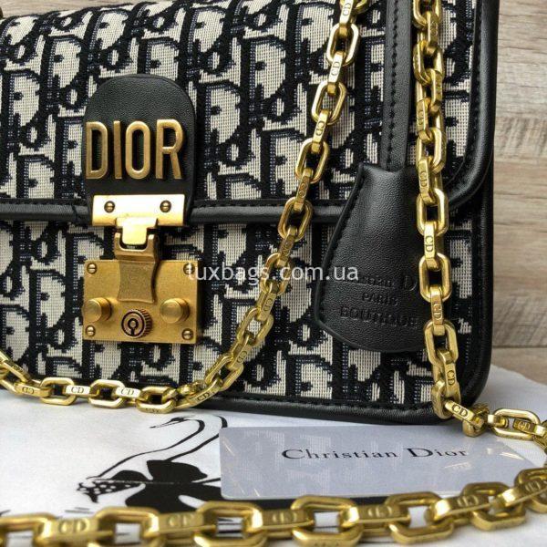 сумка Dior тканевая 8