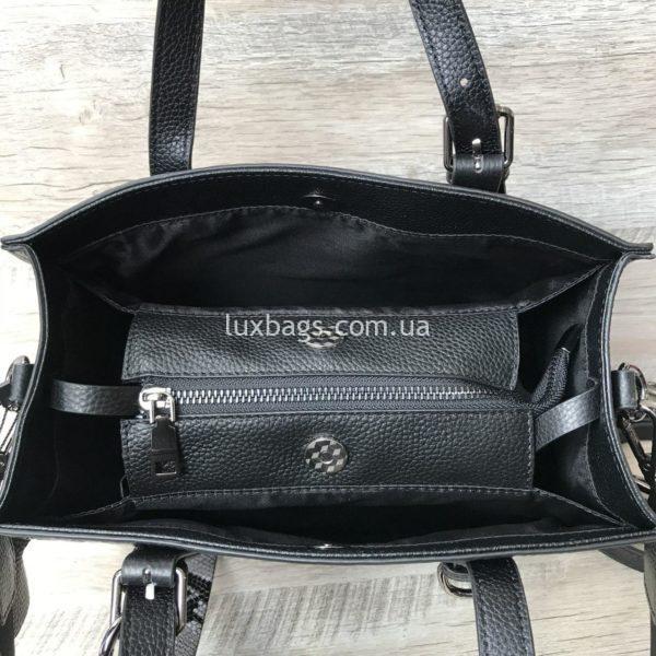 кожаная сумка с выделкой под крокодила 8