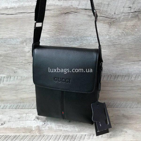 Мужская стильная сумка Gucci через плечо