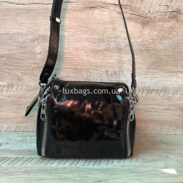 сумка из натуральной гладкой кожи 6
