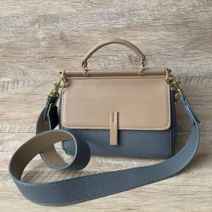 Леди Диор сумка голубая.