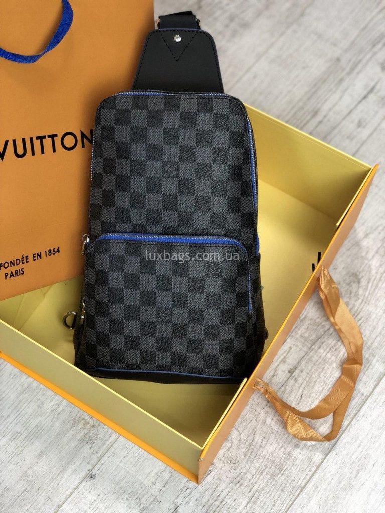 Крутая нагрудная сумка Louis Vuitton