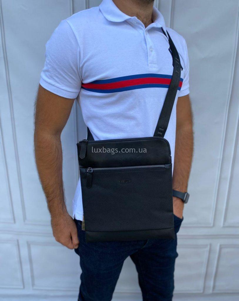 Кожаная мужская сумка-планшетка H.T. Leather