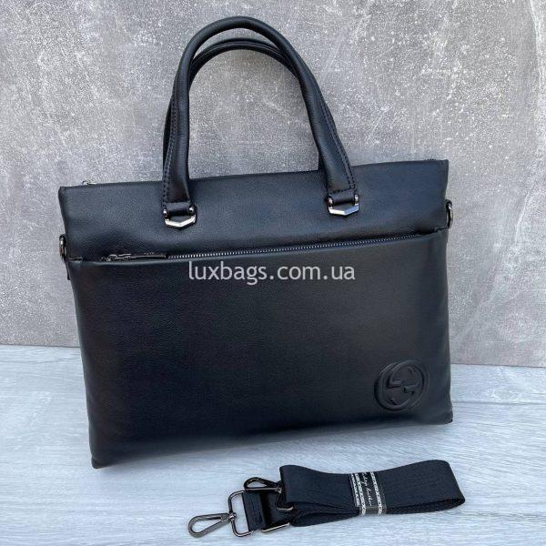 Деловая сумка портфель Гуччи.