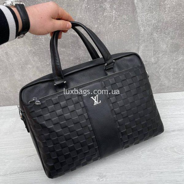 Портфель Louis Vuitton на три отдела.