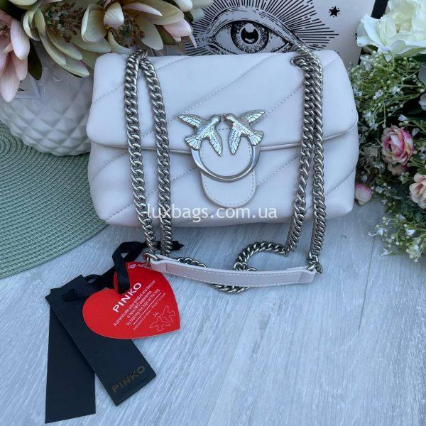 Pinko сумка через плечо с логотипом.